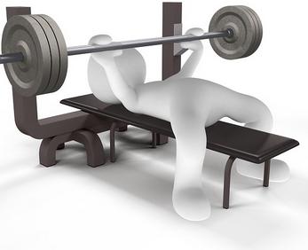 circuits-training exercice musculation développé couché