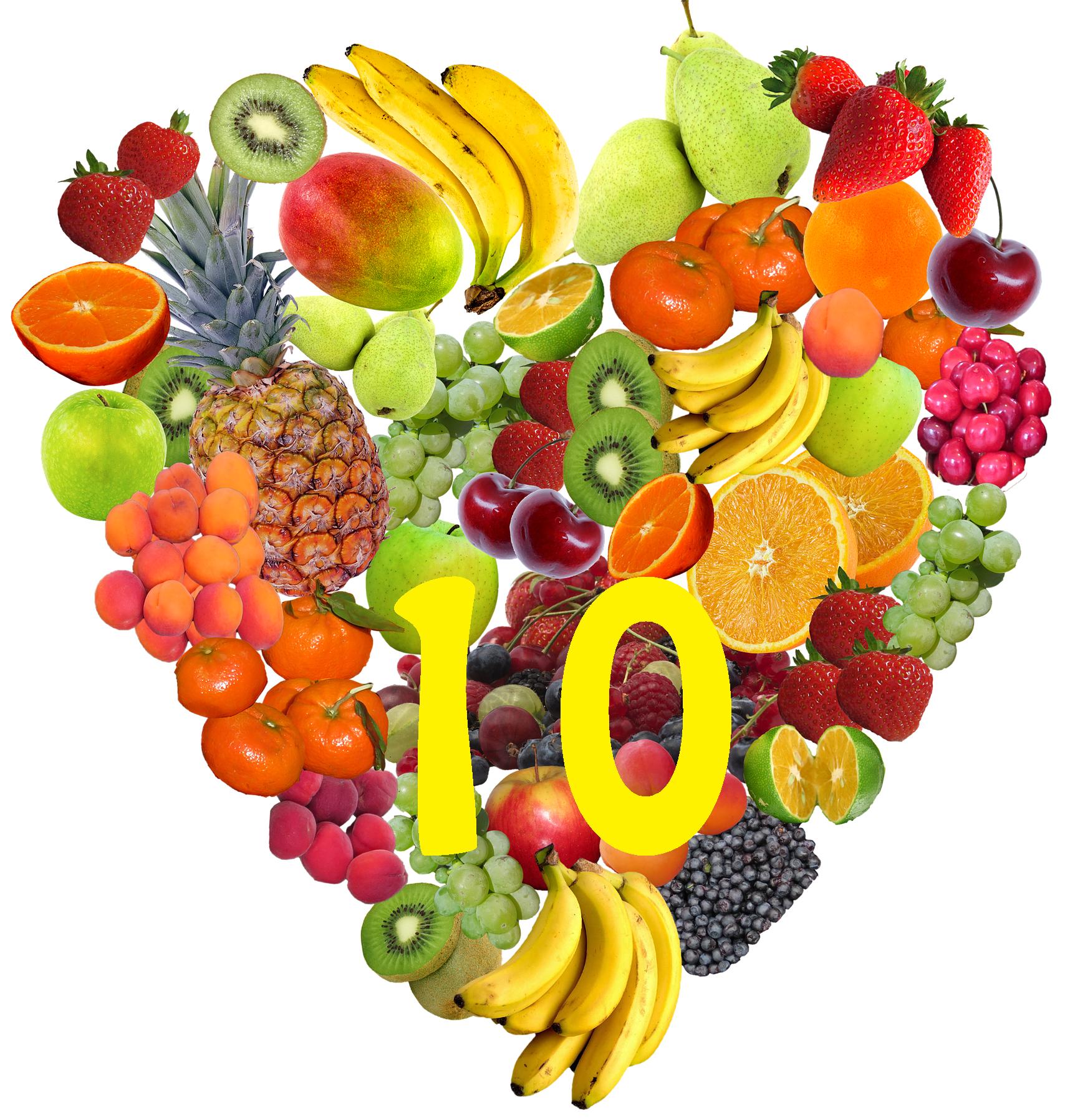 10 fruits que vous devez manger toute l'année !