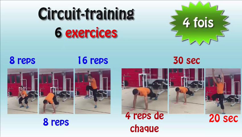 cramer la brioche circuit training