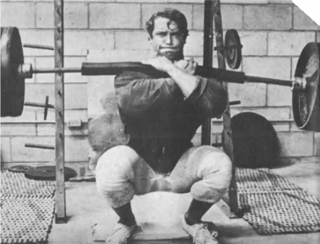 masse musculaire squat arnold
